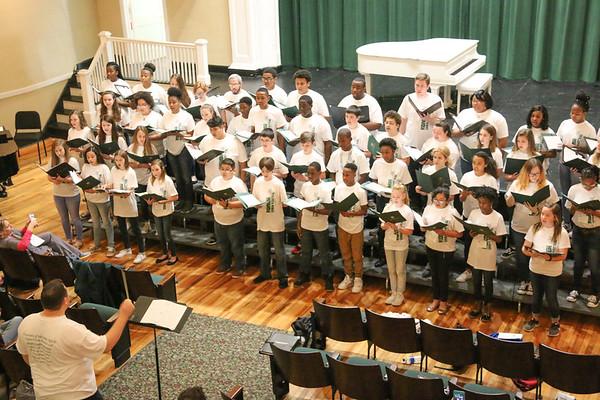 Honor Choir Festival 2018 - Middle School