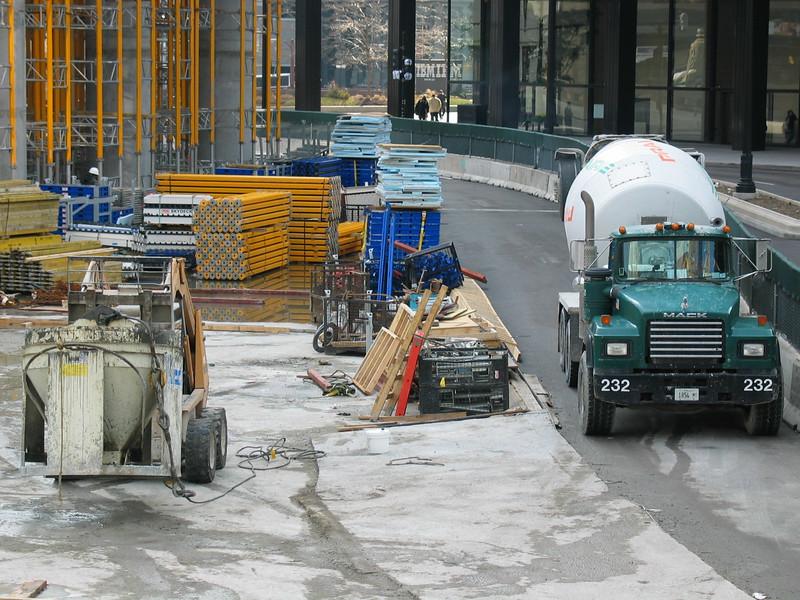 Prairie cement truck