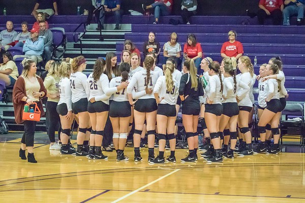Defiance College Volleyball 09-30-2018