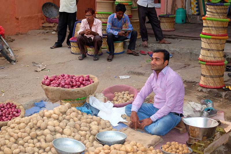 The Potato Seller