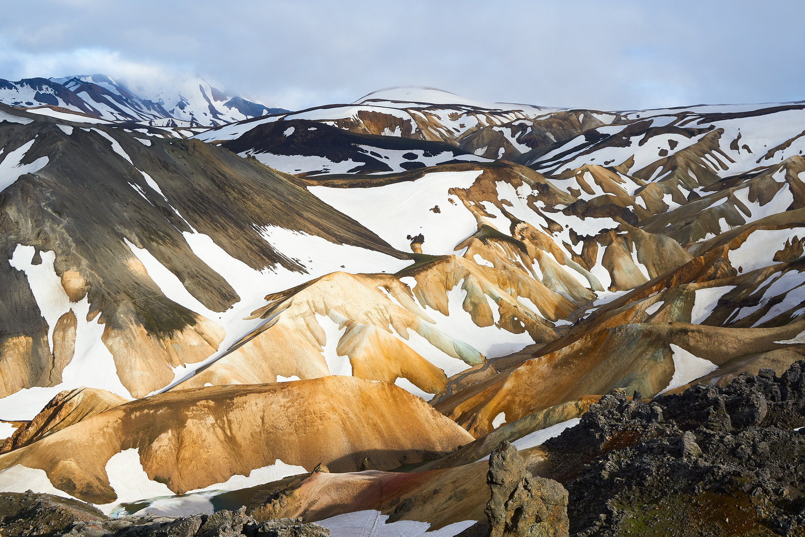 Intense colours of Iceland