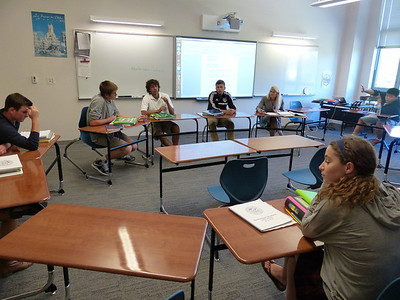 Spanish Class with Mrs. Skoug