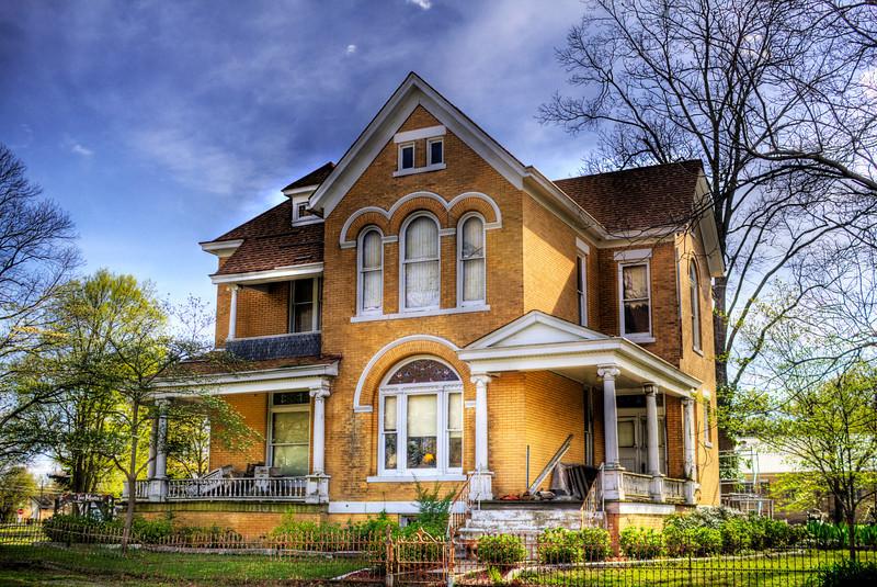 Campbell-Chrisp House, Bald Knob, AR ca. 1899