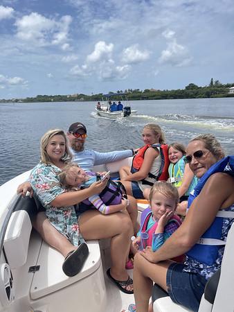 Evans Family Visit July 2021