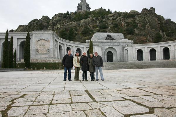 Valle de los Caidos, Spain - December, 2009