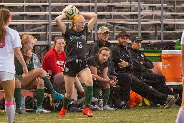 2019 Wilson Womens Soccer vs Westview