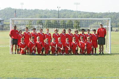U11 Arsenal Rome Team fall 9-08-2007