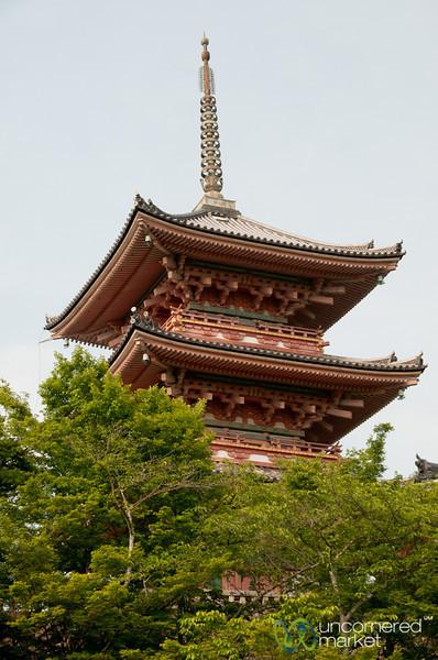 Kiyomizu-dera Buddhist Temple - Kyoto, Japan