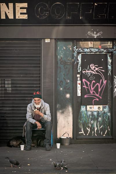 Man & Dog, Brick Lane London