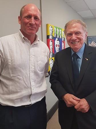 Michael Kirby visit