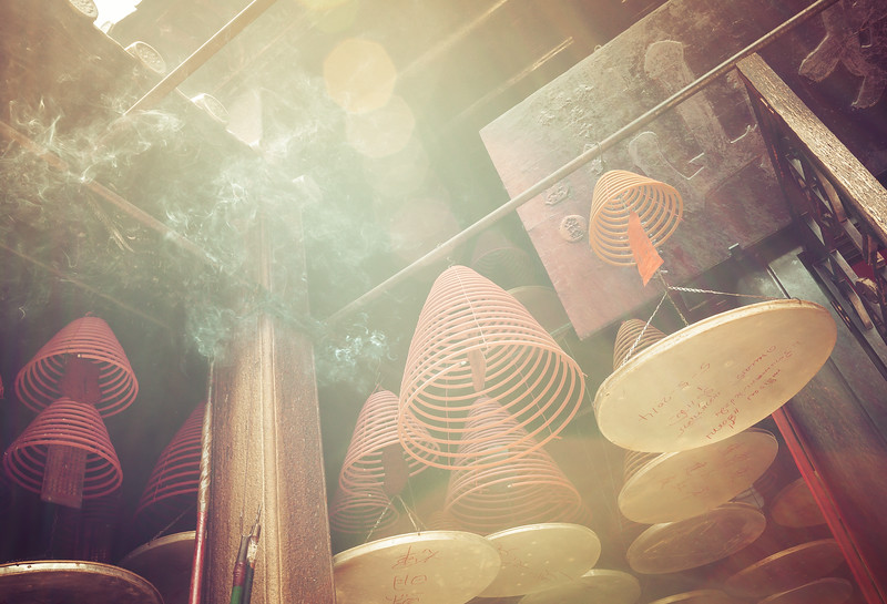 Spiral Incense in Hong Kong