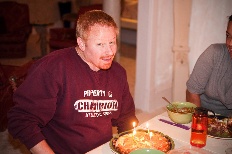 2012.10 - Chad's birthday: wine tasting in Prosser, WA. Birthday flan.
