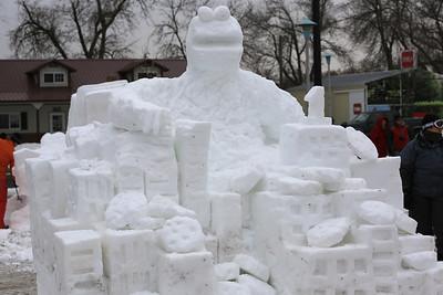 St. Paul Winter Carnival snow carvings