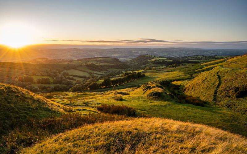 Wye Valley sunset