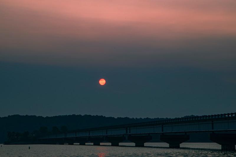 9.8.20 - HWY 12 Bridge Sunrise