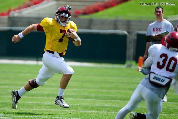 USC Football - Spring Practice - 04-09-11