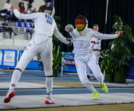 Junior world cup Udine 2019 woman epee
