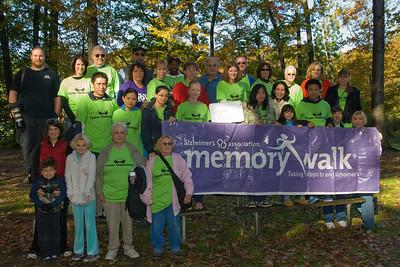Memory Walk to end Alzheimers, Dellridge Team, Oct.26,2008