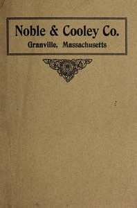1915 Noble & Cooley Catalog