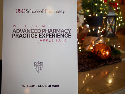 USC School of Pharmacy APPE Fair, December 2017