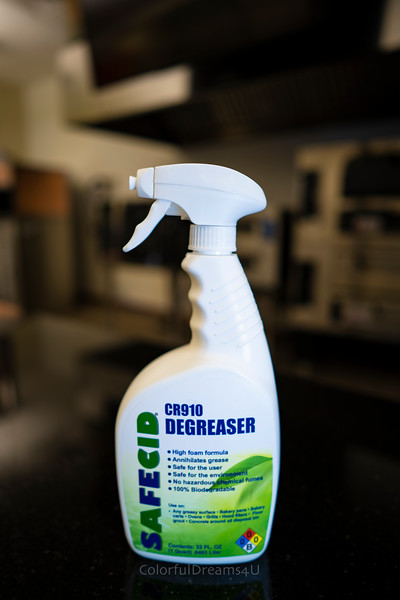 CR910 Degreaser - Pictures