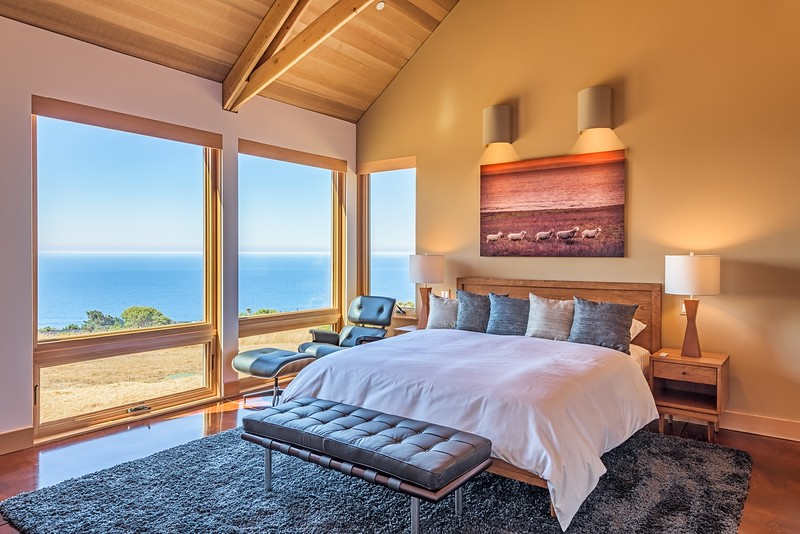 Master Bedroom with Panoramic Ocean Views