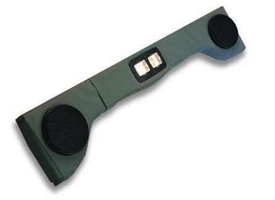 Overhead Two Speaker Sound Bars Upholstered - 792111