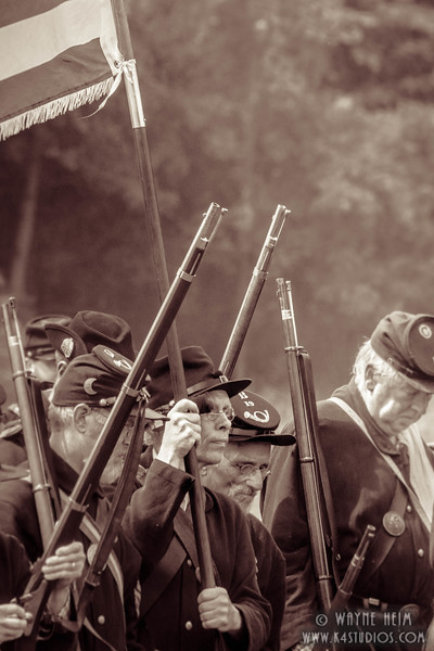 On the March to Battle  Photography by Wayne Heim