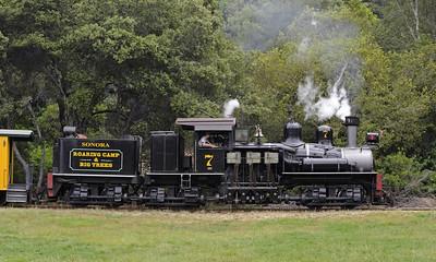 California: Roaring Camp & Big Trees Railroad, 2013