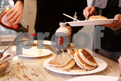 Pancakes with the Provost