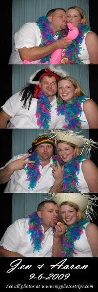 Jen & Aaron (9-6-2009)