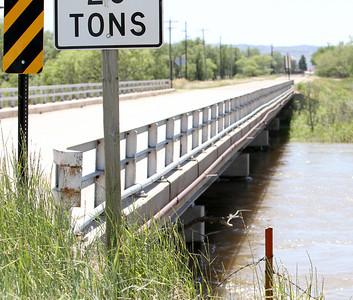 North Platte River rising waters