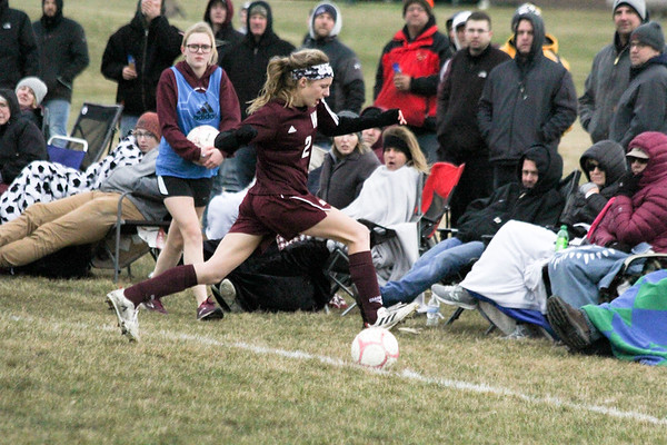 WC girls' soccer versus Unity Christian 4-9-19