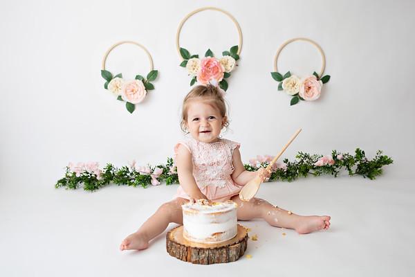 N's Floral Cake Smash Session