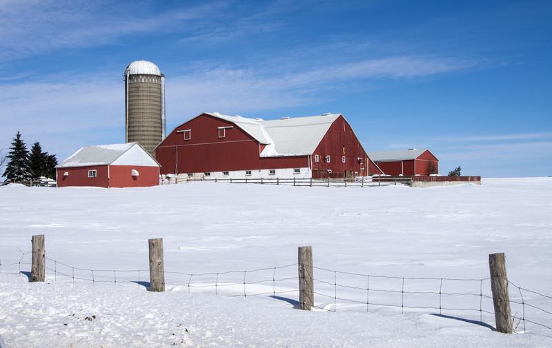 Barn near Paris Ontario