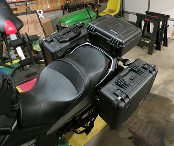 Pelican 1550 Side Cases