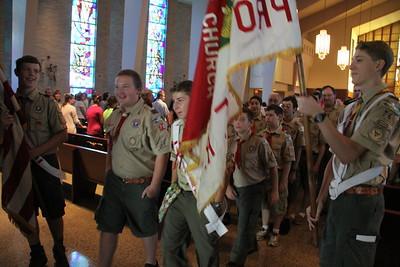 Scouts 75th Anniversary