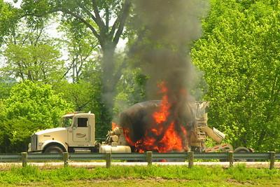 05-21-12 Coshocton FD Truck Fire