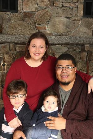 Sarah and Family Xmas 2018