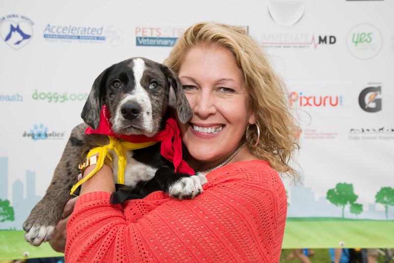 Lisa Dent and Adopted Puppy (20140621-RfTL-682).jpg