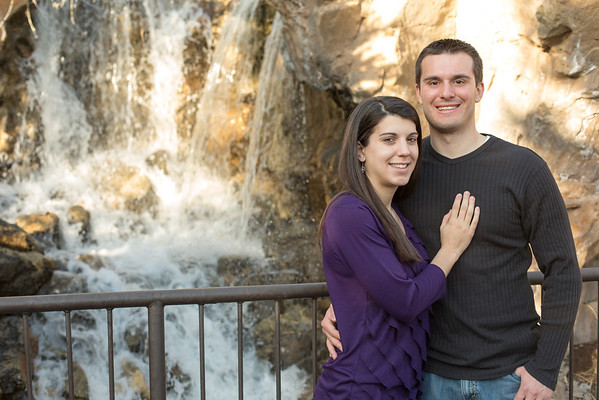 Engagements - Thanksgiving Point Gardens