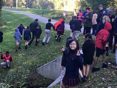 Fourth Grade Autumn Preserve Walk