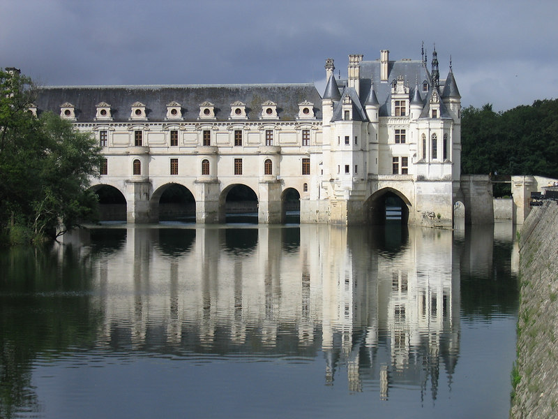 Chenonceaux in the Loire Valley of France