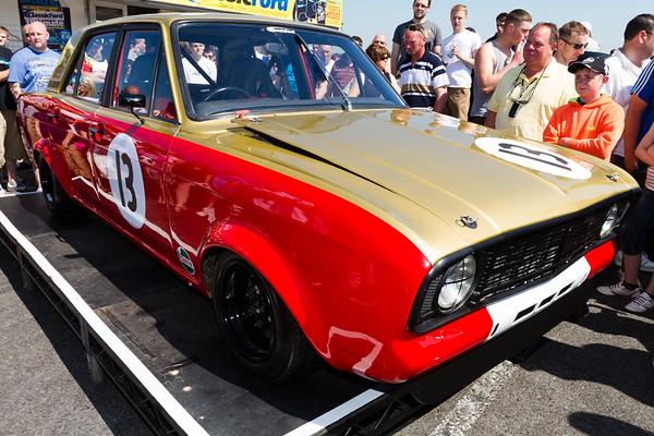Classic Ford Show 2012 - Santa Pod