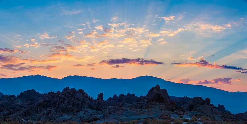 Alabama Hills - Eastern Sunrise