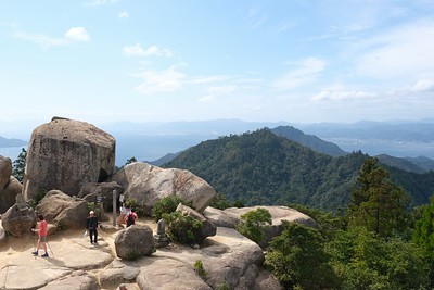 Hike to Summit of Mount Misen