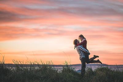 Pioneer Square Engagement | Alli + Kurt | Seattle Wedding Photographer