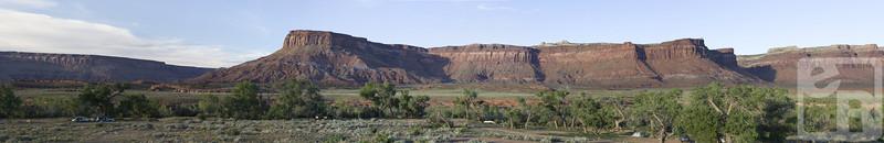 Pasture Creek Panoramic View