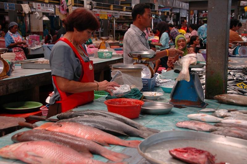 Fish Market - Krabi, Thailand