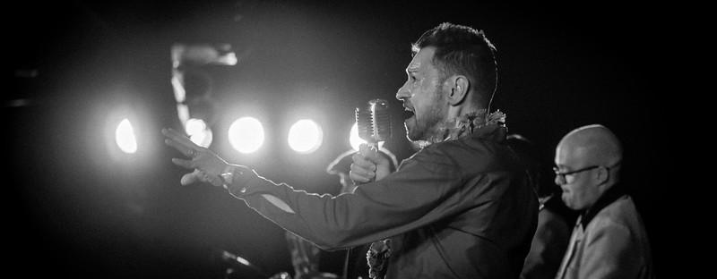 Si Cranstoun, Rhythm Riot, 2015 in Black n White